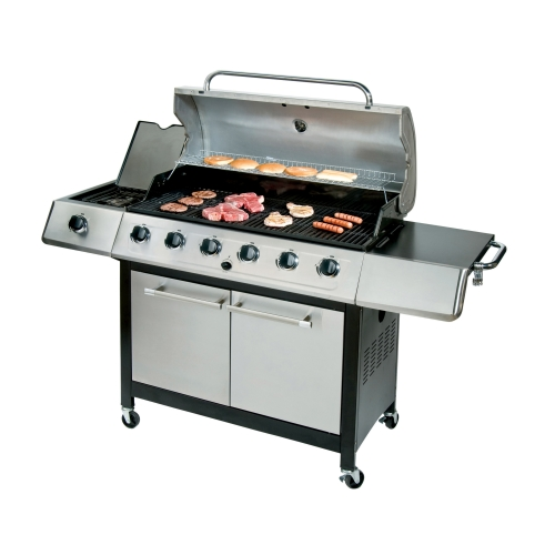 char broil k6b gas grill review meet and grill. Black Bedroom Furniture Sets. Home Design Ideas