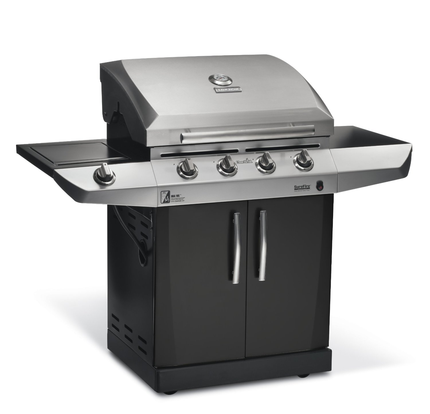 Char Broil Magnum 500 Review Dual Fuel Gas Grill Meet